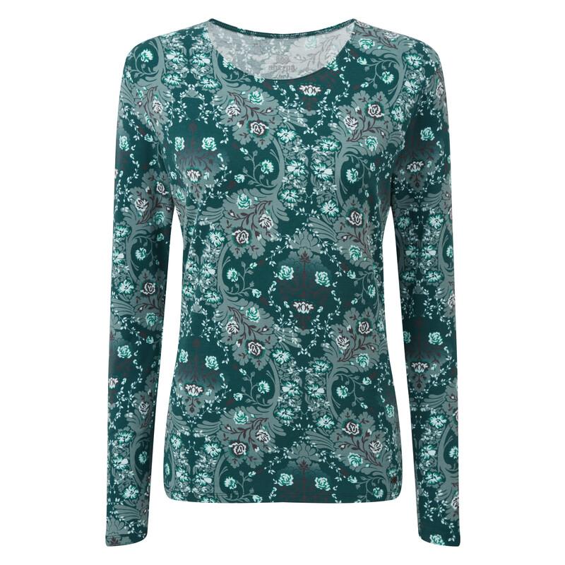 Mala Long Sleeve Top - Rathna Green