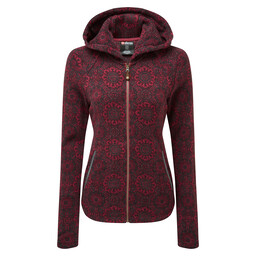 Namla Hooded Jacket II Shaadi Red