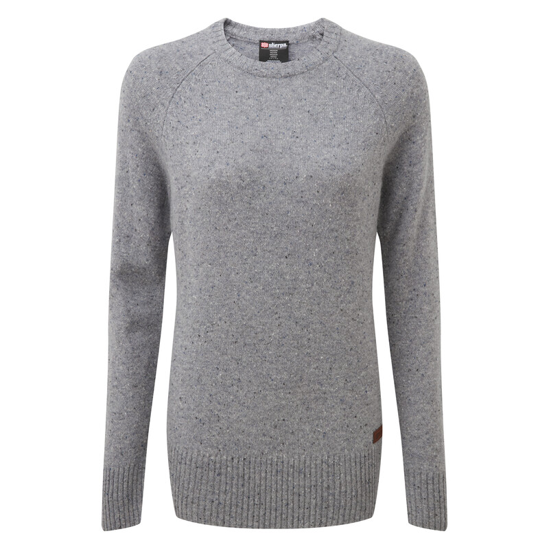 Kangtega Crew Sweater - Monsoon Grey
