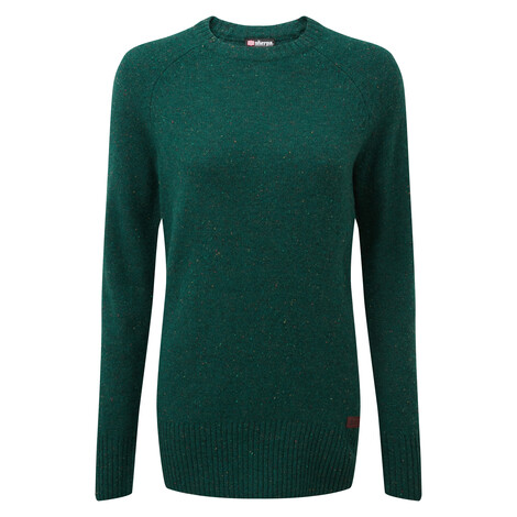Kangtega Crew Sweater Rathna Green