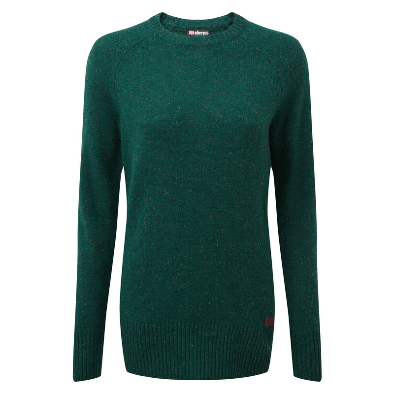 Kangtega Crew Sweater - Rathna Green