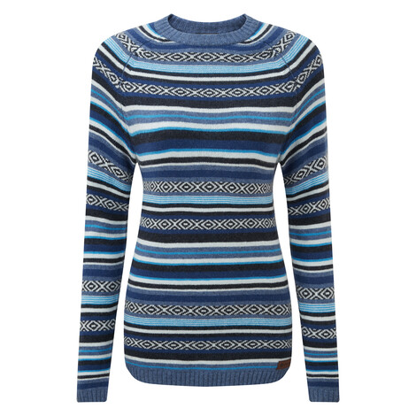 Paro Crew Sweater Neelo Blue