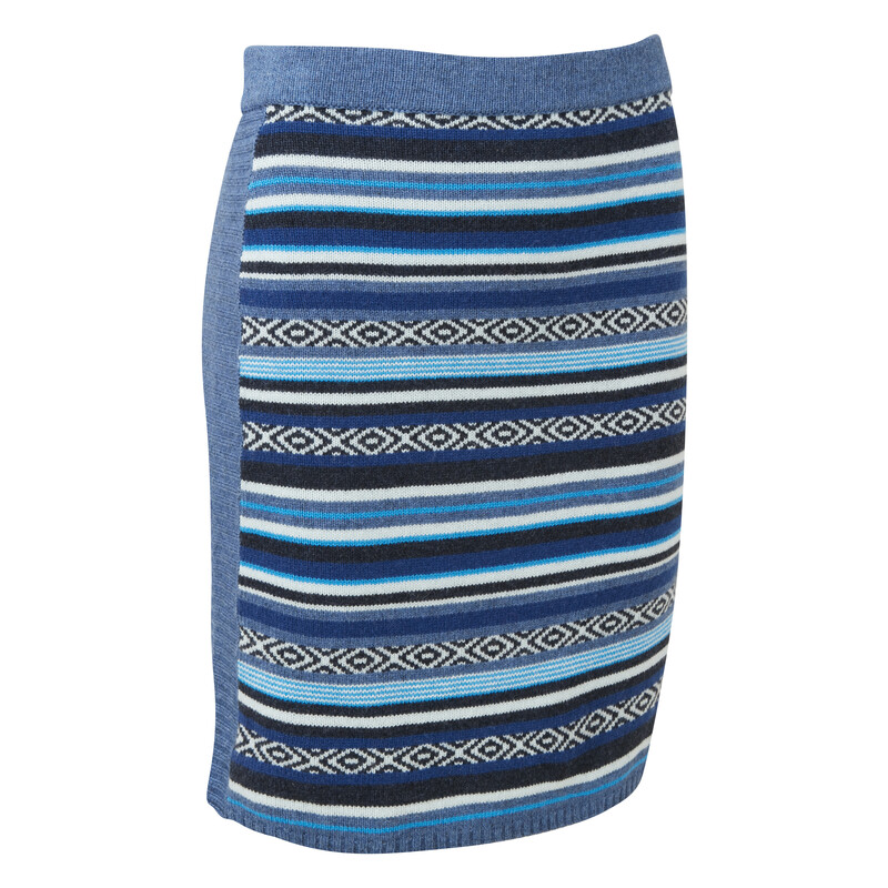 Paro Skirt - Neelo Blue