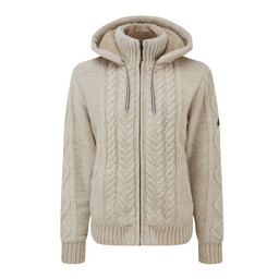 Sherpa Adventure Gear Kirtipur Cable-Knit Sweater in Karnali Sand