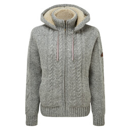 Kirtipur Cable-Knit Sweater Darjeeling Mist