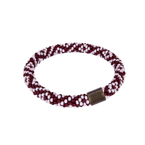 Sherpa Adventure Gear Two Colour Roll on Bracelet in Tongba/Geelo