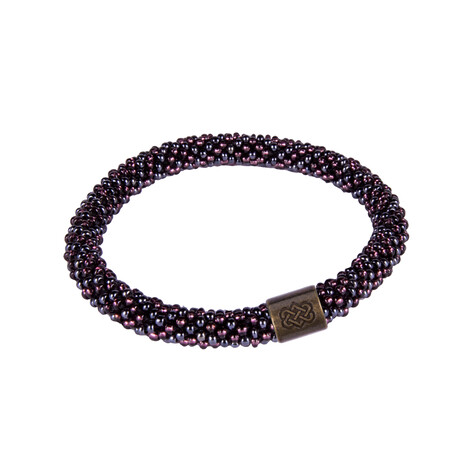 Sherpa Adventure Gear Two Colour Roll on Bracelet in Kharani