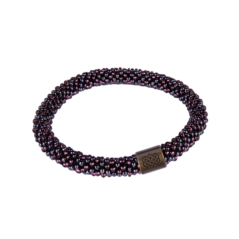 Two Colour Roll on Bracelet - Kharani