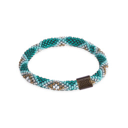 Multi Roll on Bracelet Rathna Green