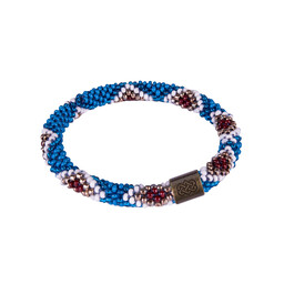 Sherpa Adventure Gear Multi Roll on Bracelet in Blue Tara