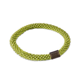 Solid Roll on Bracelet Gokarna Green