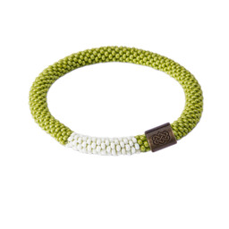 Sherpa Adventure Gear Mayalu Block Roll on Bracelet in Gokarna Green