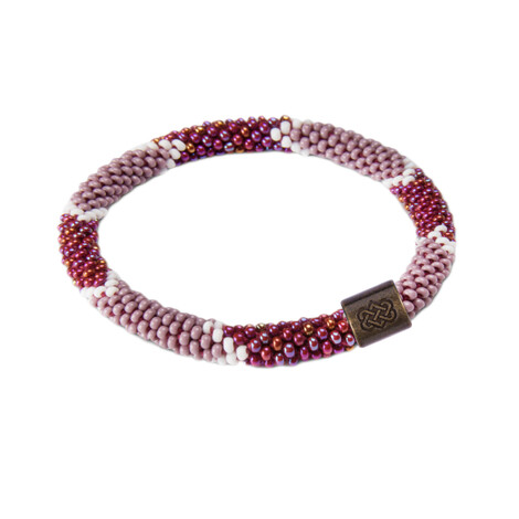 Sherpa Adventure Gear Mayalu Ikat Roll on Bracelet in Anaar
