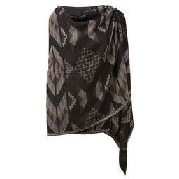 Sherpa Adventure Gear Lumbini Blanket Scarf in Black