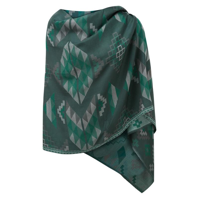 Lumbini Blanket Scarf - Rathna Green