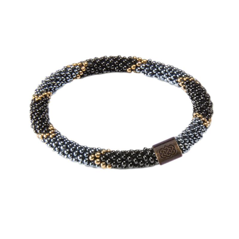 Mayalu Ikat Roll on Bracelet - Kharani
