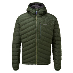 Sherpa Adventure Gear Annapurna Hooded Jacket in Mewa Green
