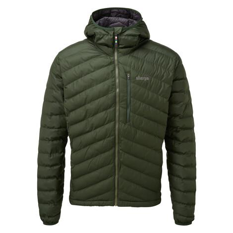Annapurna Hooded Jacket Mewa Green