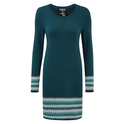 Maya Jacquard Dress Rathna Green