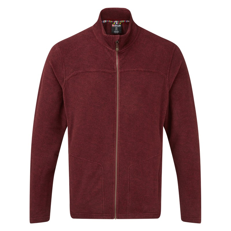 Rolpa Jacket - Potala Red