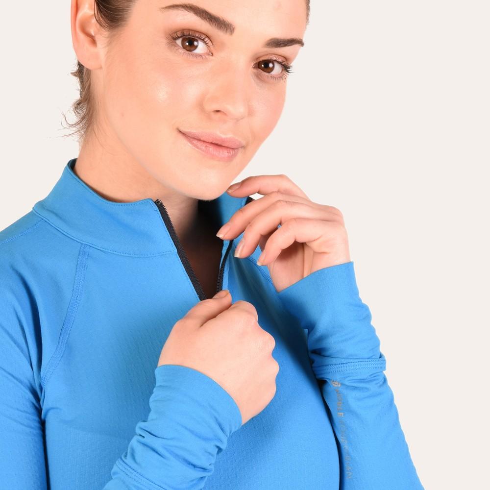 Ashley Performance Shirt Brilliant Blue/Dark Navy