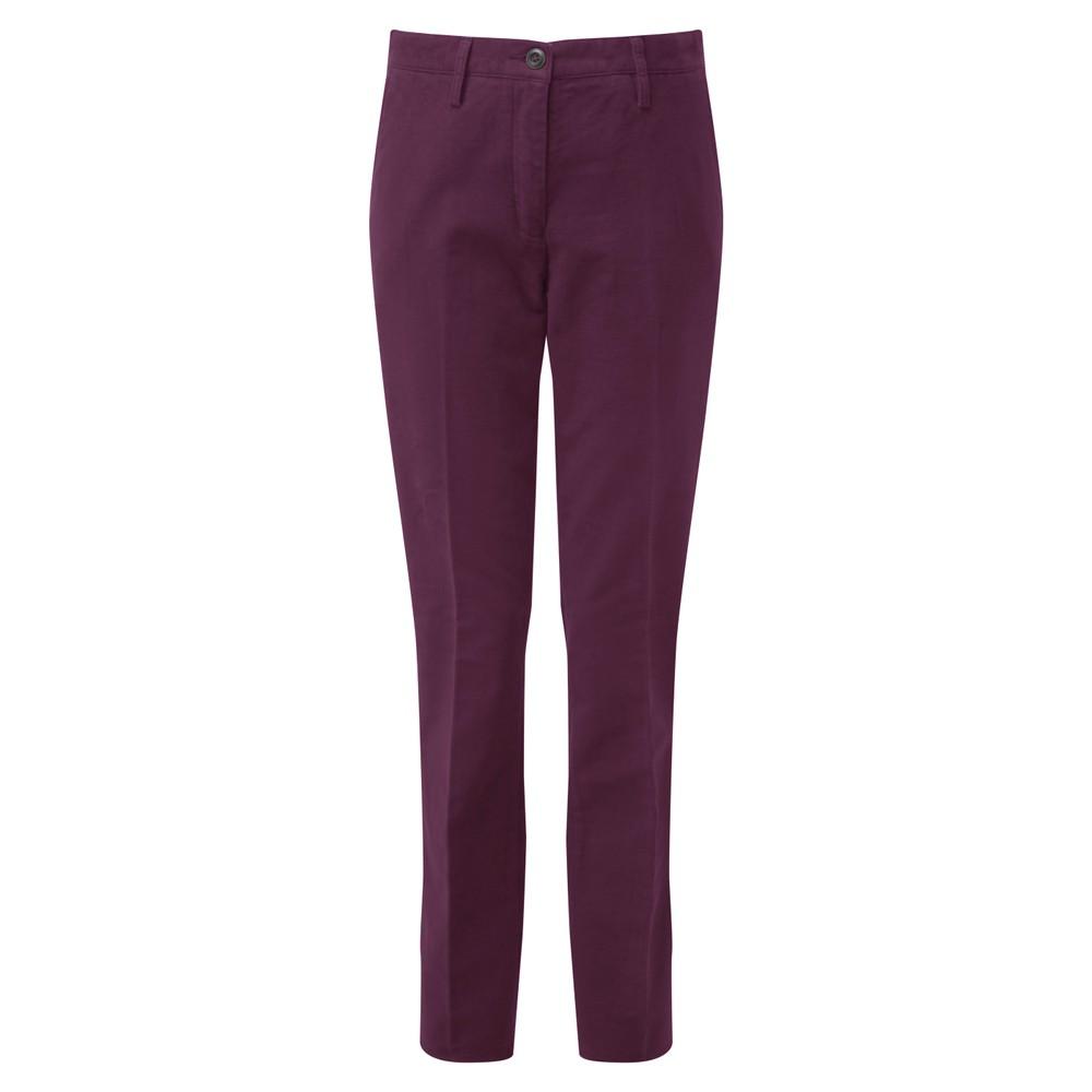 Ladies Moleskin Trousers Fig