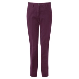 Ladies Moleskin Trousers Fig
