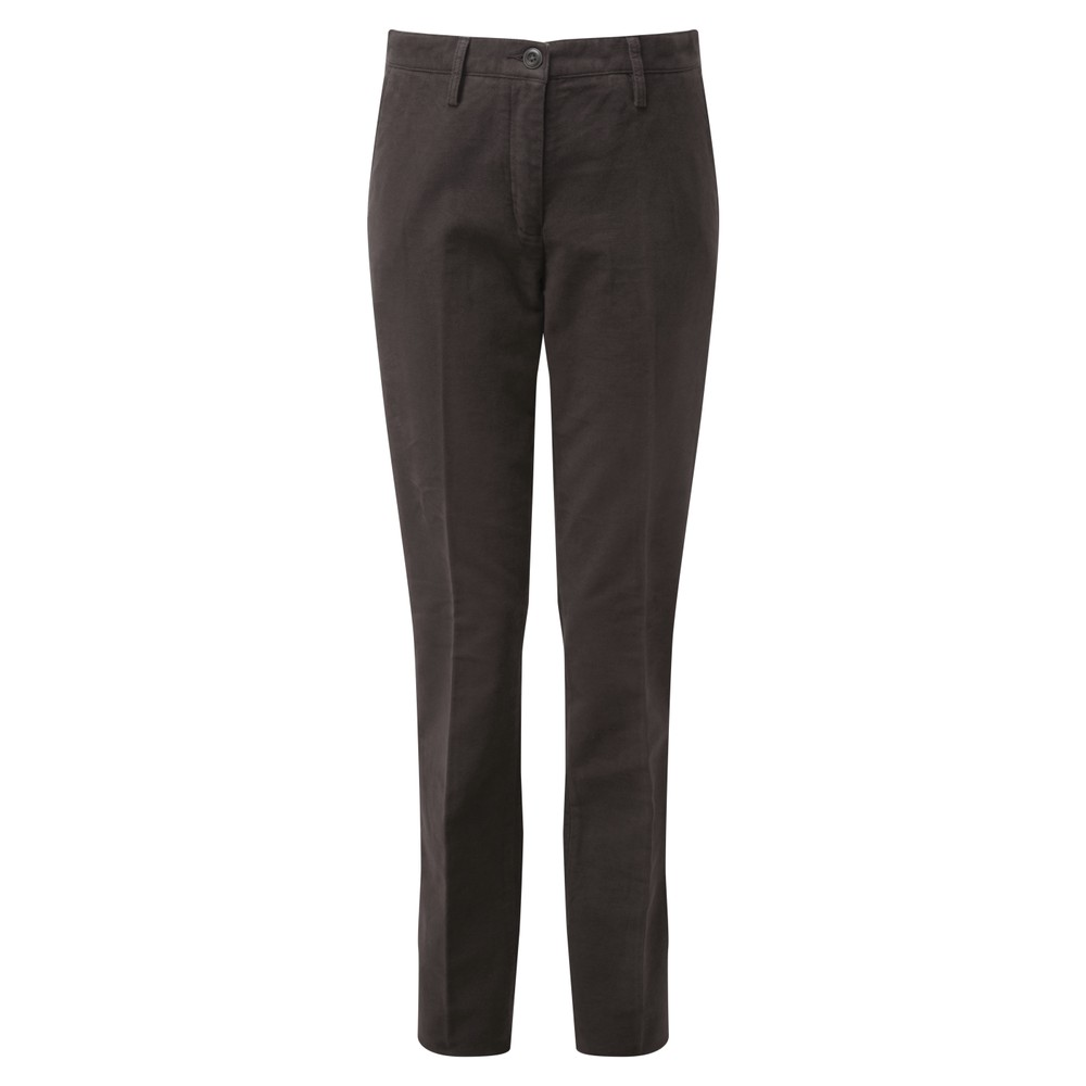 Ladies Moleskin Trousers Espresso