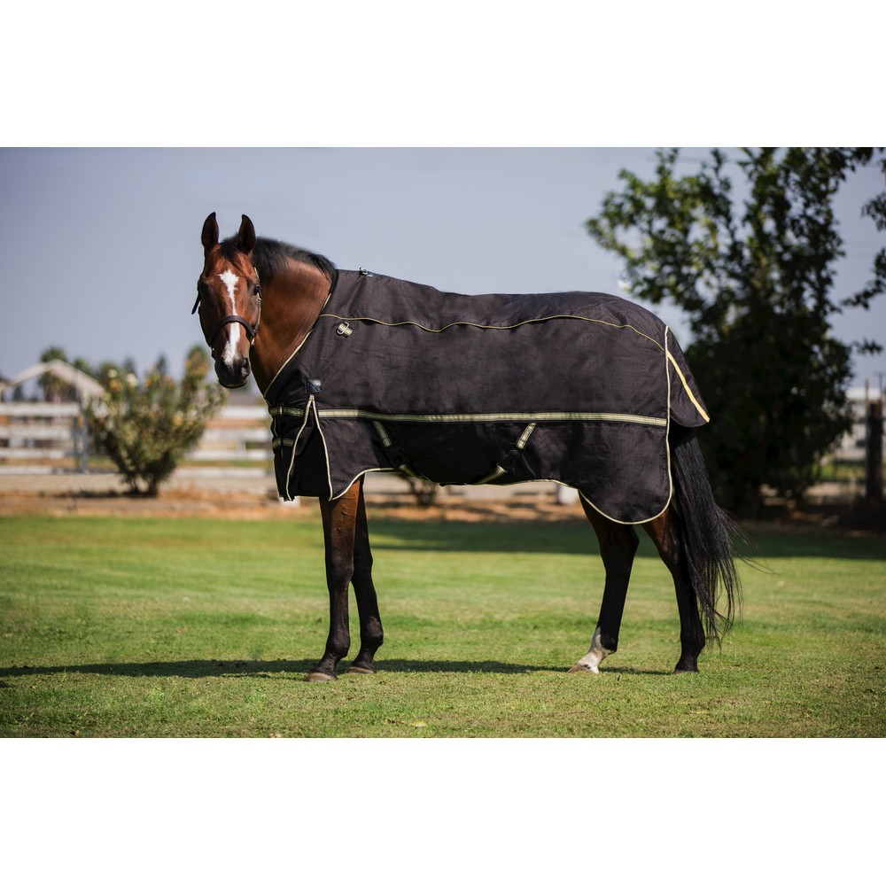 4 in 1 Turnout Rug System Black