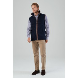 Oakham Fleece Gilet Navy