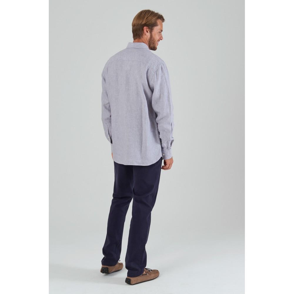 Sandbanks Tailored Shirt Grey