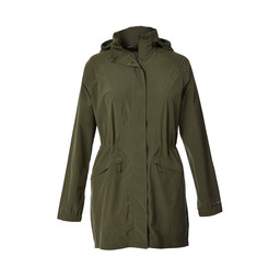 Royal Robbins Oakham Waterproof Trench in Bayleaf