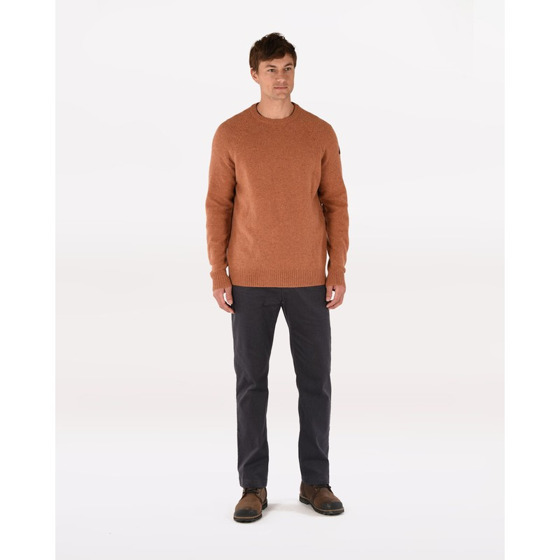 Kangtega Crew Sweater - Masala Orange