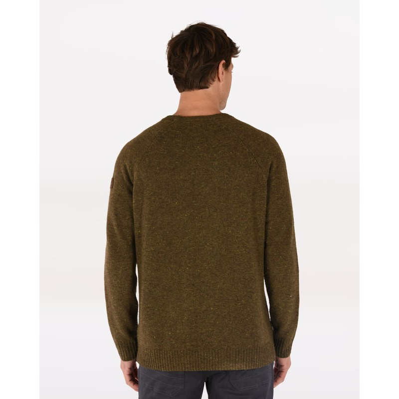 Kangtega Crew Sweater - Mewa Green