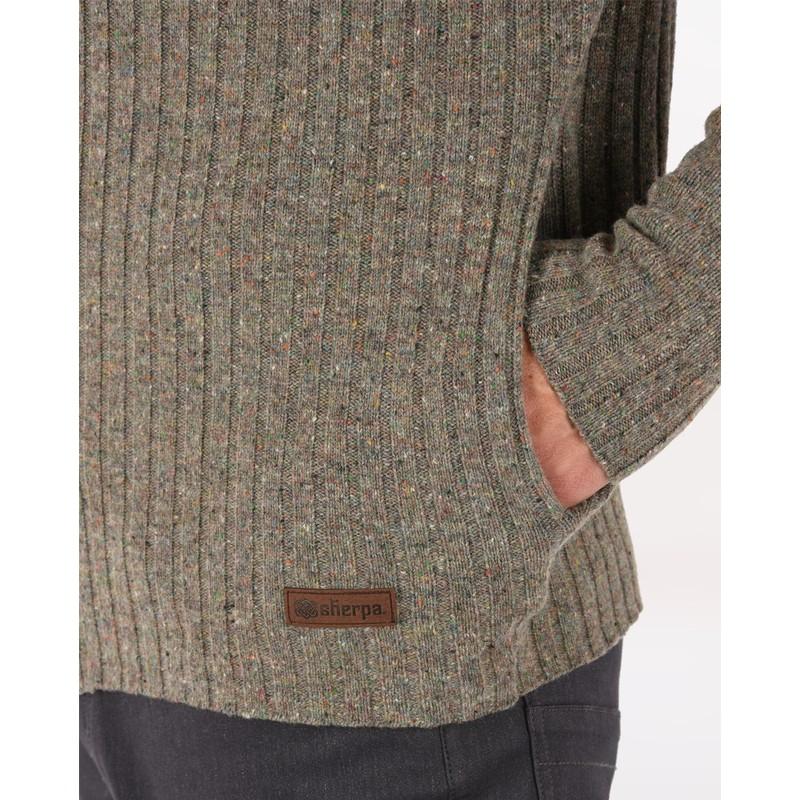 Kangtega Full Zip Sweater - Tamur River