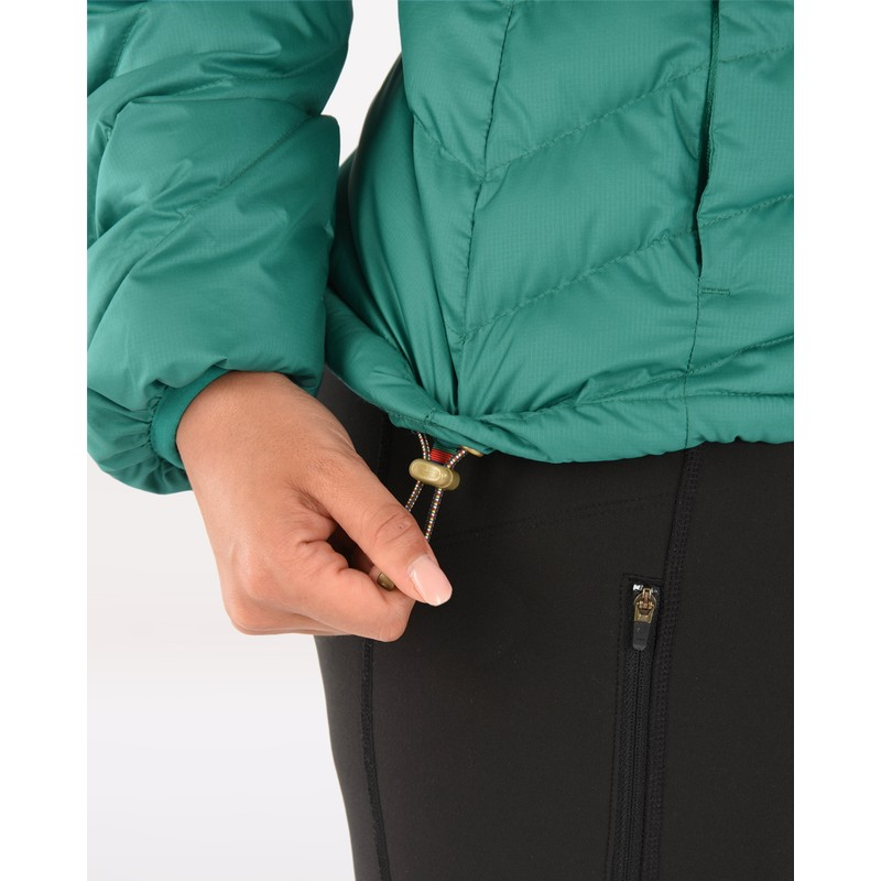 Annapurna Hooded Jacket - Pokhari Green