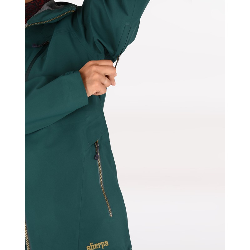 Makalu Jacket - Rathna Green
