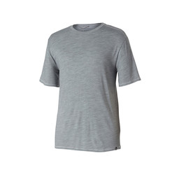 Royal Robbins Merinolux S/S Tee in Lt Pewter