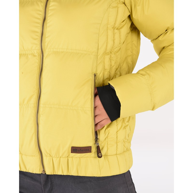 Yangzum Jacket - Chutney Yellow