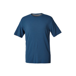 Royal Robbins Merinolux S/S Tee in Blue Stone