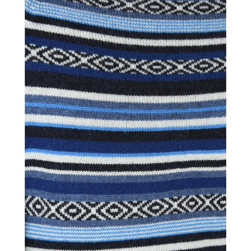 Paro Crew Sweater - Neelo Blue