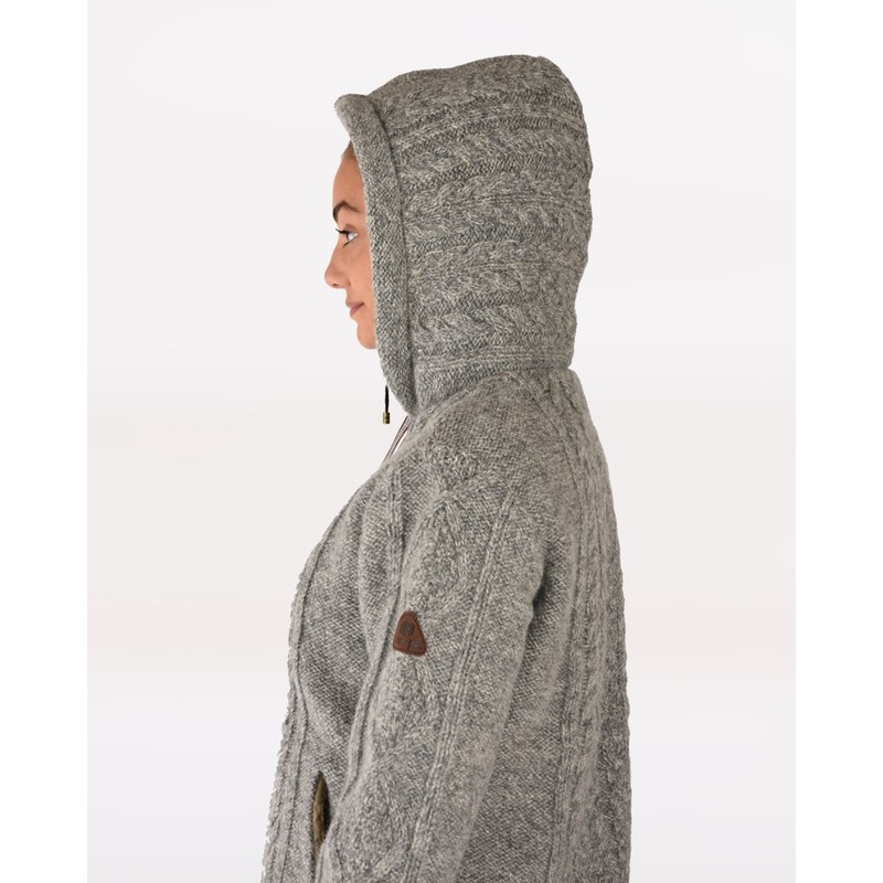 Kirtipur Cable-Knit Sweater - Darjeeling Mist