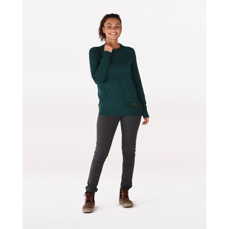 Kangtega Crew Sweater - Rathna Green
