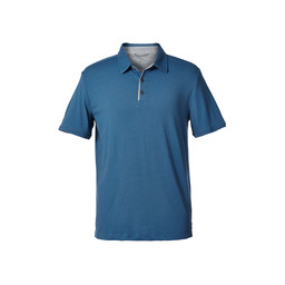 Royal Robbins Merinolux Polo in Blue Stone