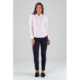 Salcombe Shirt Harbour Stripe Pink