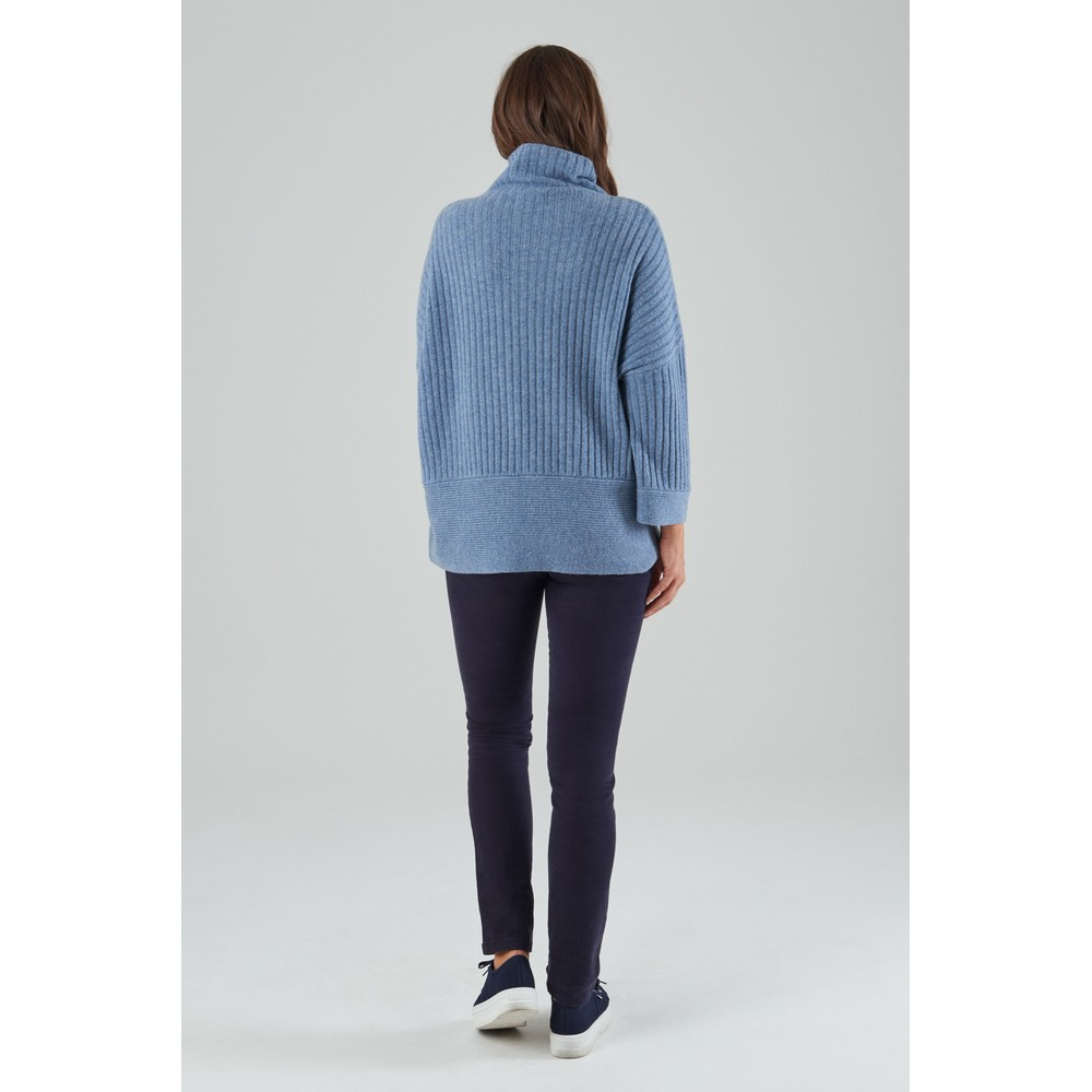 Merino Loose Fit Jumper Seagrass