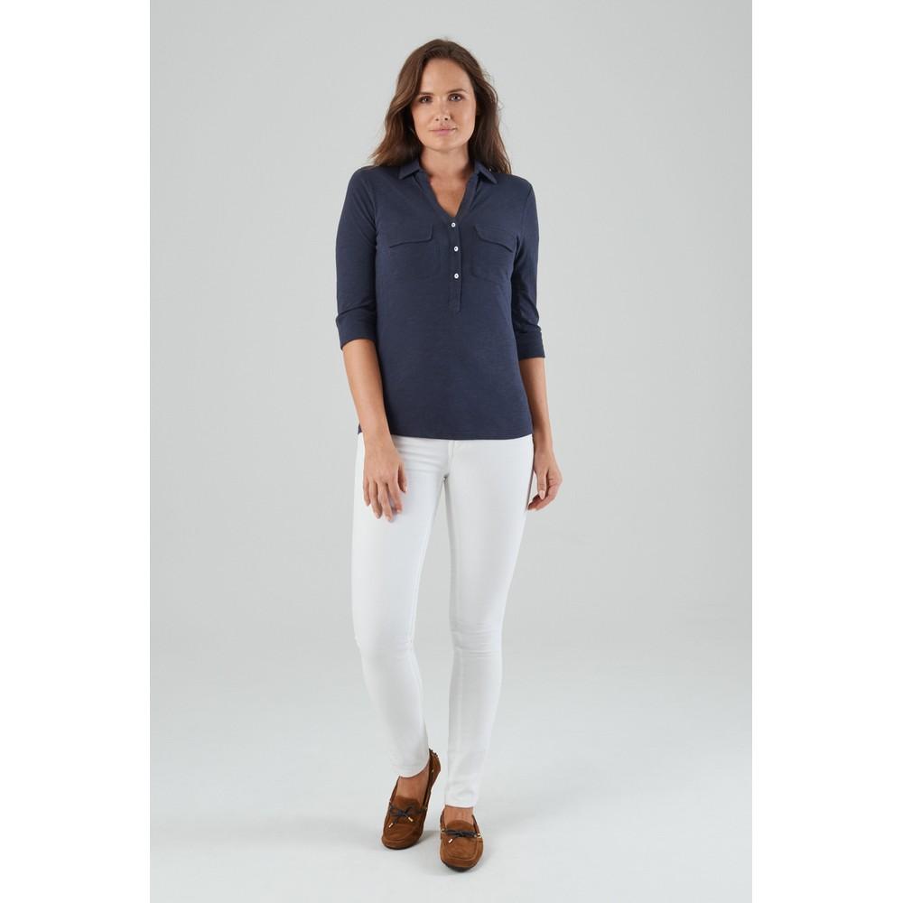 Marina Jersey Shirt Navy