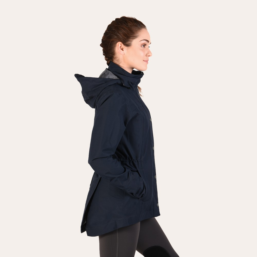 Cheval Waterproof Jacket Dark Navy