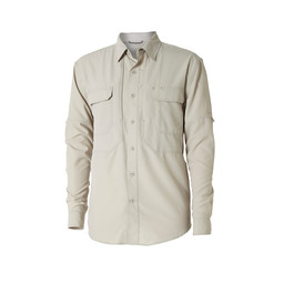 Royal Robbins Expedition Chill L/S Shirt in Soapstone