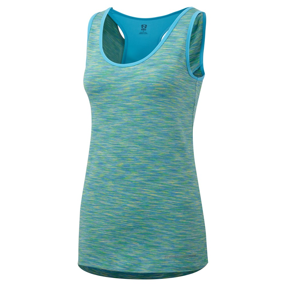 Brooke Tank Tahoe Blue Space/Hawaiian Blue